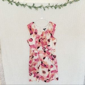 Apt 9 | Peach & Pink Floral Dress - 14